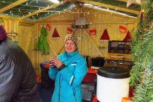 Christina Kunkel-Auch, Vorsitzende SPD Hösbach in der Hütte