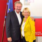 Martina Fehlner und Jean Asselborn